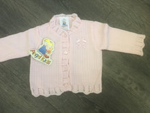 Load image into Gallery viewer, Baby Girl's Cardigan Pink or White