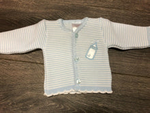 Load image into Gallery viewer, Tiny Baby or Premature Baby Girl's Cardigan