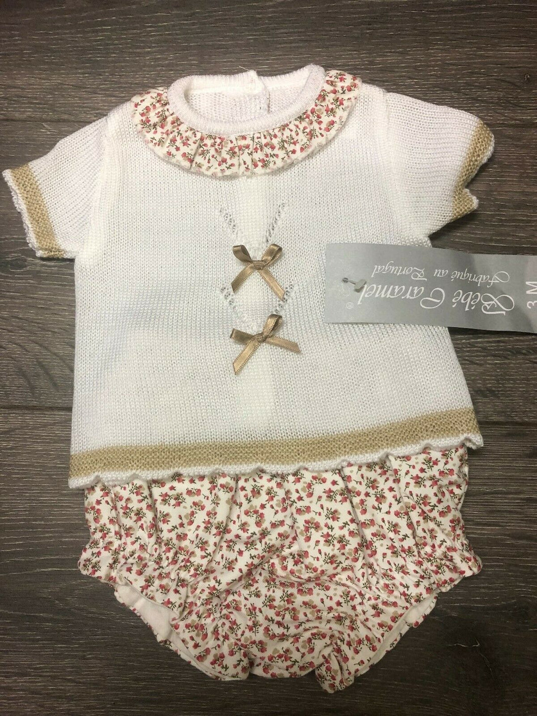 Baby Girls Spanish Style Portuguese Outfit Rosebuds