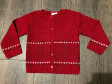 Load image into Gallery viewer, Baby Boy's Cardigan Navy Blue Red