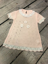 Load image into Gallery viewer, BABY GIRL'S SPANISH STYLE LIGHTWEIGHT DRESS WITH BOLERO CARDIGAN