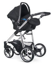 Load image into Gallery viewer, Venicci Silver Wild Travel System Black Bundle