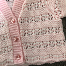 Load image into Gallery viewer, Tiny Baby or Premature Baby Boy's or Girls Cardigan in Pale Blue or Pink