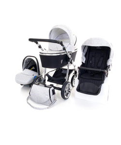 Venicci Silver Spark Travel System Bundle FREE UK POSTAGE