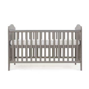 O Baby Whitby Cot Bed - Taupe Grey