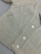 Load image into Gallery viewer, Copy of Baby Boy's White Long Sleeved Cardigan
