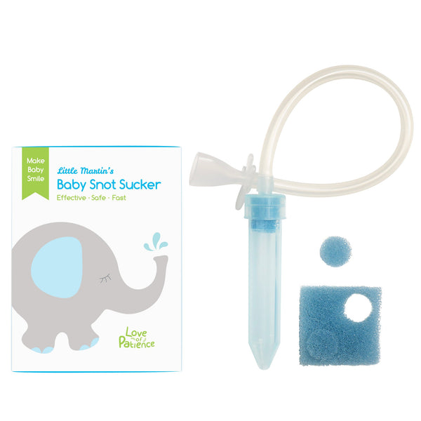 Little Martin's Reusable Snot Sucker for Newborn