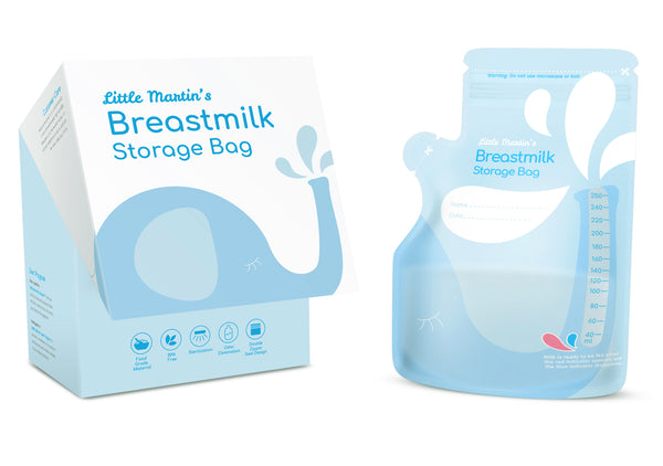 Little Martin's Breast Milk Storage Bags - 60 Counts