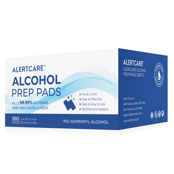 alcohol prep pad use