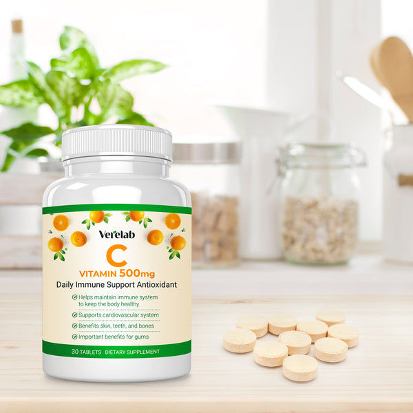 Vitamin C 500 mg Immune Support Antioxidant