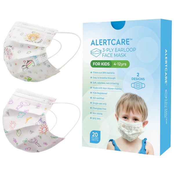 AlertCare Kids 3-ply Face Mask (20 Pcs)