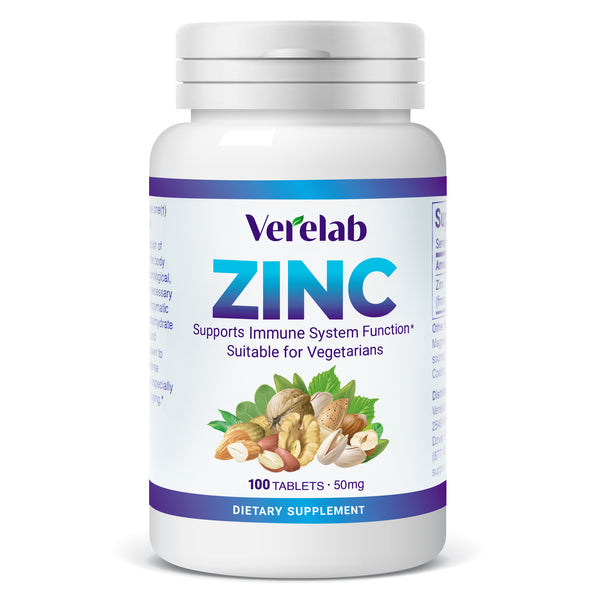 Verelab Zinc 50 mg for Immune Support
