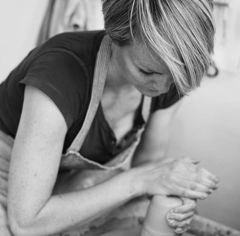 Hilda Carr Pottery - Handmade homeware and kitchenware ceramics. Working from a small pottery studio in my garden in South London making most of my work on the potters wheel.