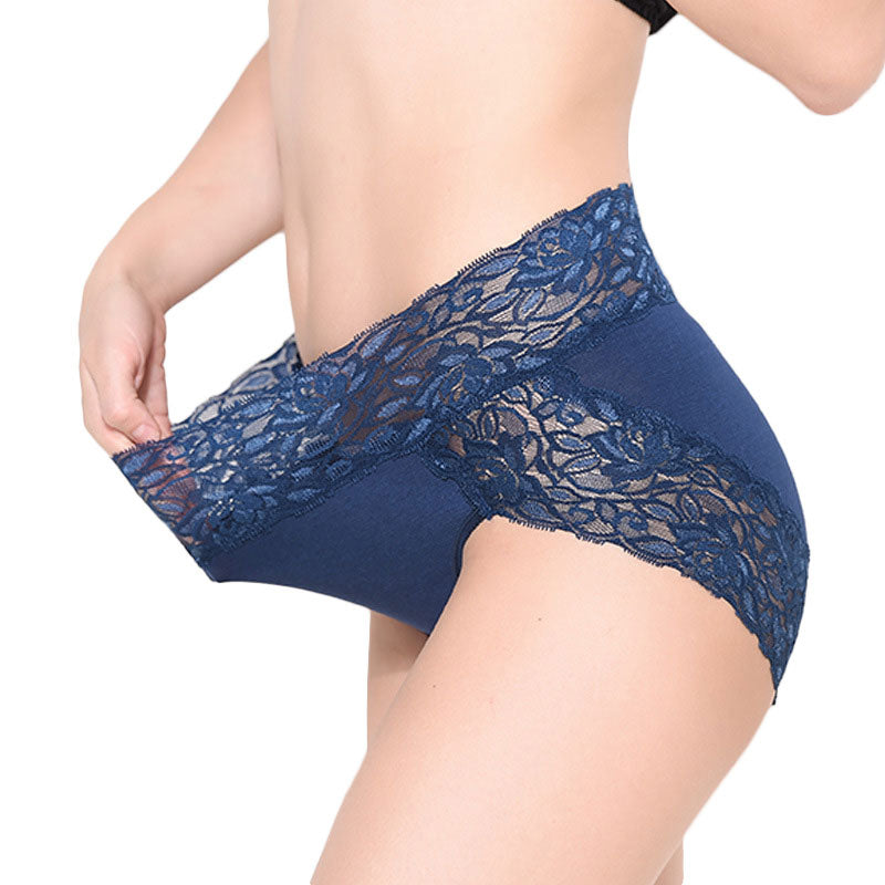 New Arrival Ropa Interior Femenina Lace Sexy Lingeries Briefs Women Underwear Plus Size High Waist Women's Panties Underpants