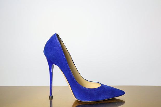 Jimmy Choo Suede Pump