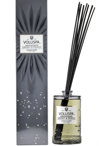 Voluspa Ebony & Peach Diffuser
