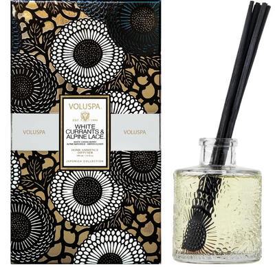 Voluspa White Currants & Alpine Lace Diffuser