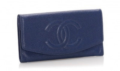 Chanel Caviar Timeless Yen Wallet