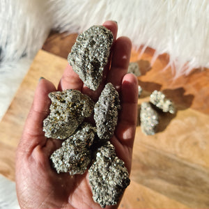 Raw Pyrite - Wealth, Abundance, Success and Protection.