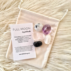 'FULL MOON' Crystal bundle
