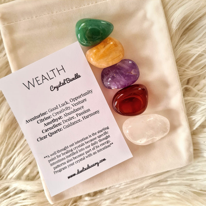 'WEALTH' Crystal bundle