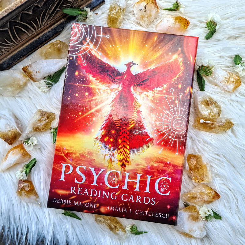 PSYCHIC READING CARDS - AWAKEN YOUR PSYCHIC ABILITIES