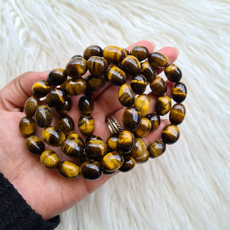 Tigers Eye Bracelet ~ Chunky