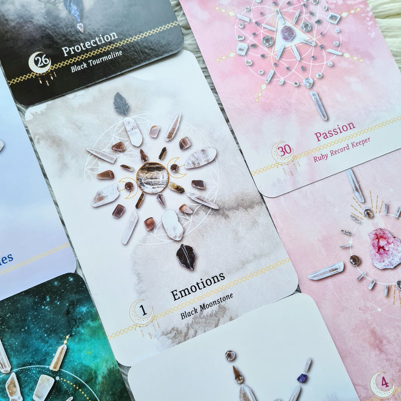 CRYSTAL GRID ORACLE  SPIRITUAL GUIDANCE USING NATURE'S TOOLS