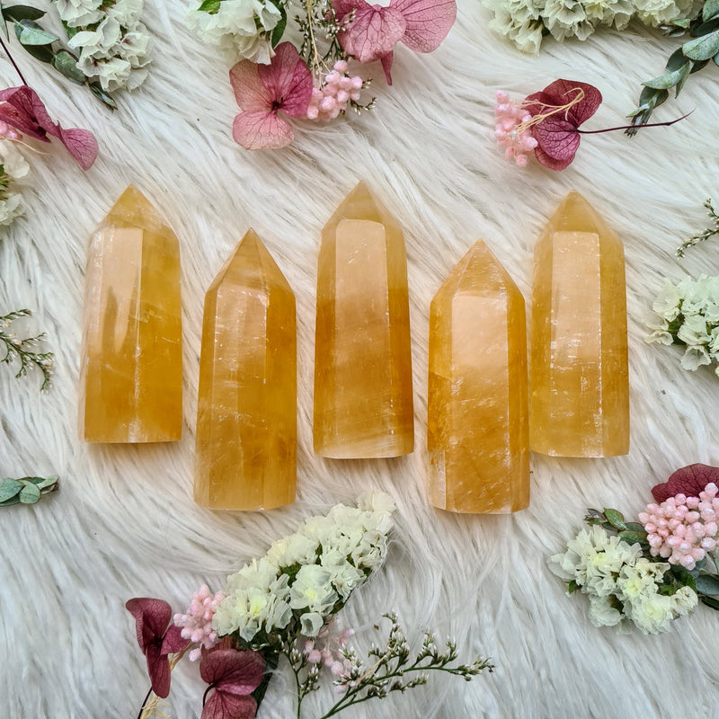 Honey calcite ~ Self confidence