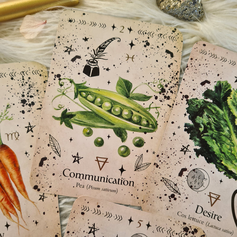 GREEN WITCH ORACLE ~ DISCOVER REAL SECRETS OF BOTANICAL MAGICK