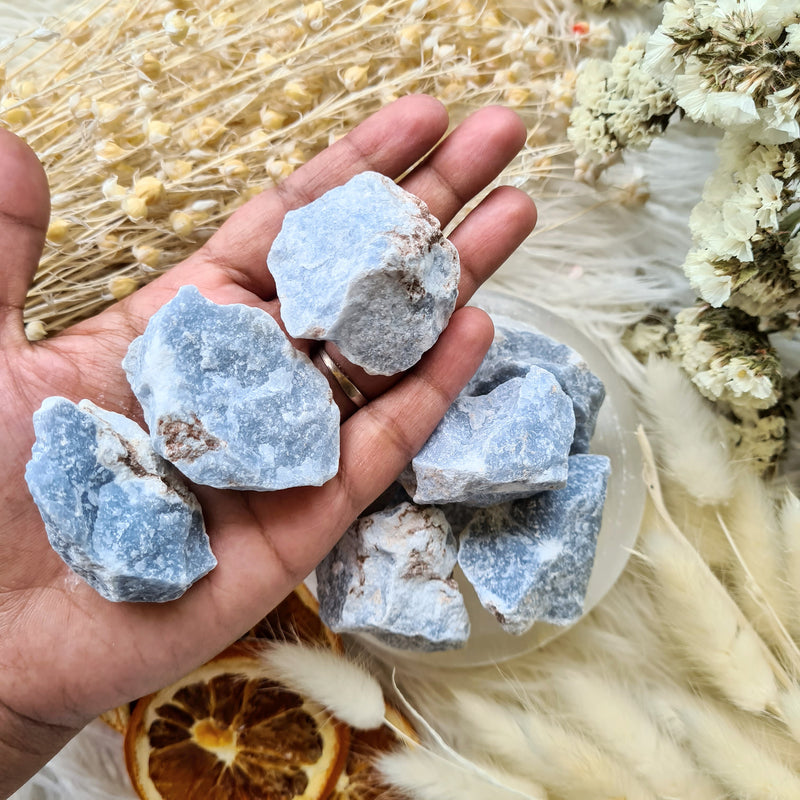 Angelite ~ Raw