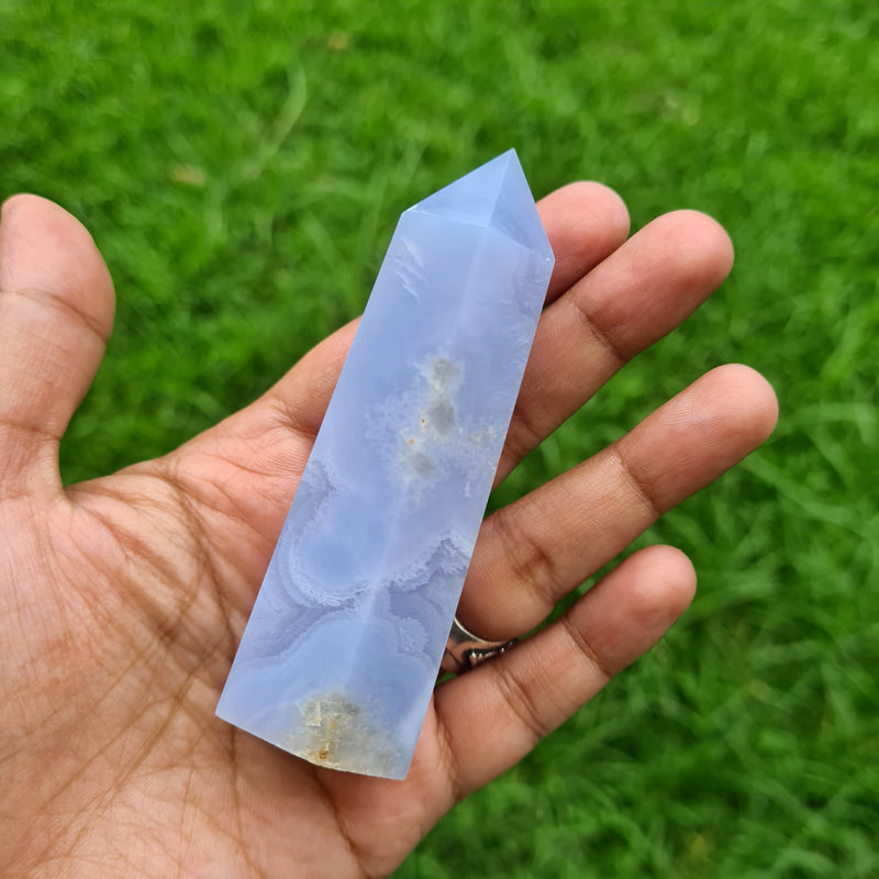 Blue Lace Agate ~ Soothe Anger