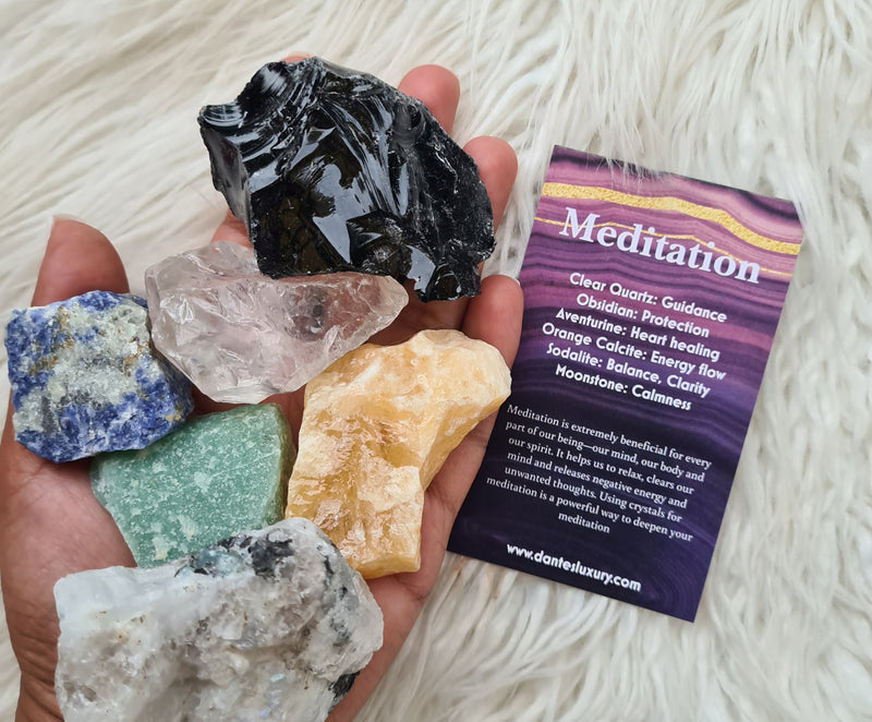 Meditation~ Crystal Bundle