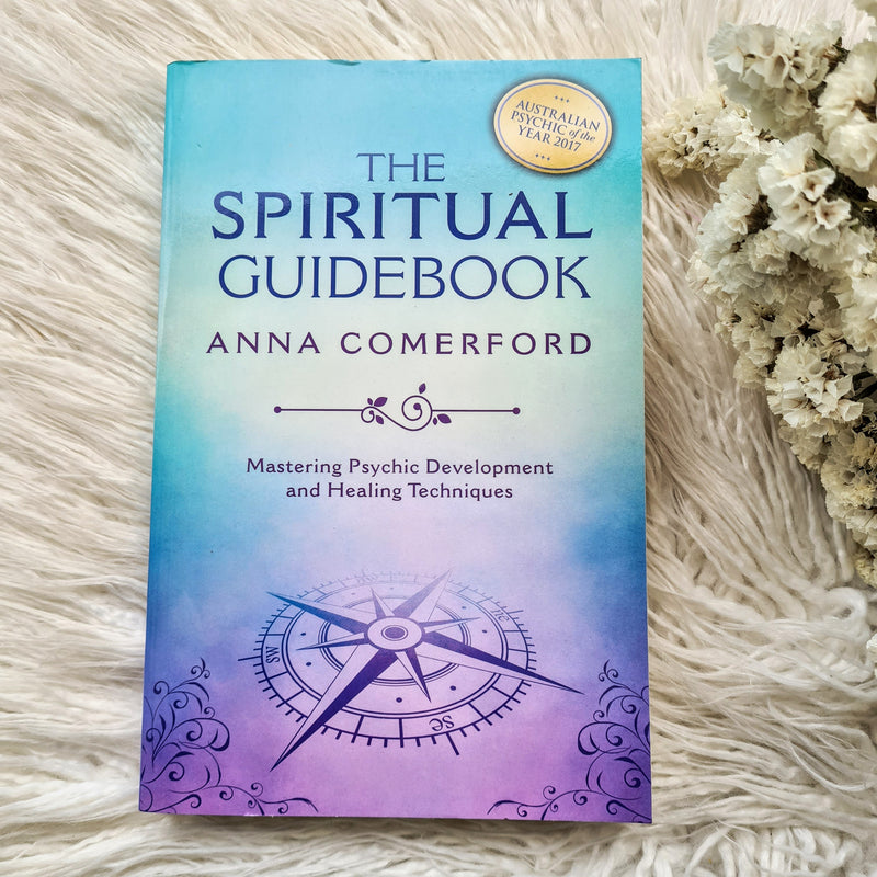 SPIRITUAL GUIDEBOOK  MASTERING PSYCHIC DEVELOPMENT AND HEALING TECHNIQUES