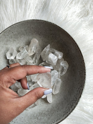 Clear Quartz- Raw Fountain chunk