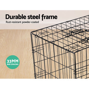 PHP 48inch Pet Cage - Black - Pet Homes Plus