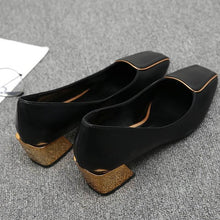 Load image into Gallery viewer, Square Heel Shoes