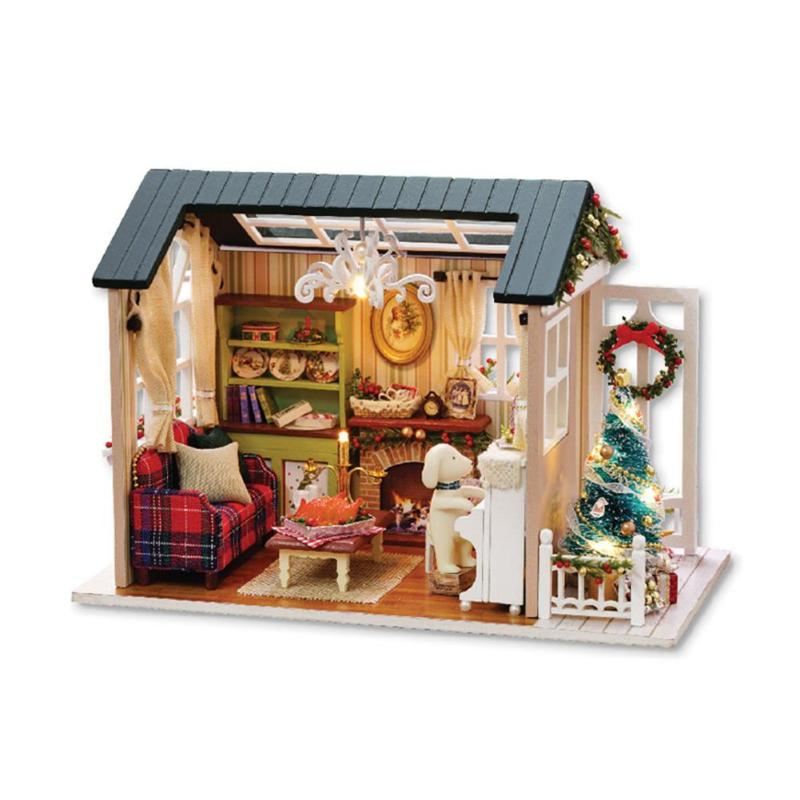 DIY  House Kids Wooden
