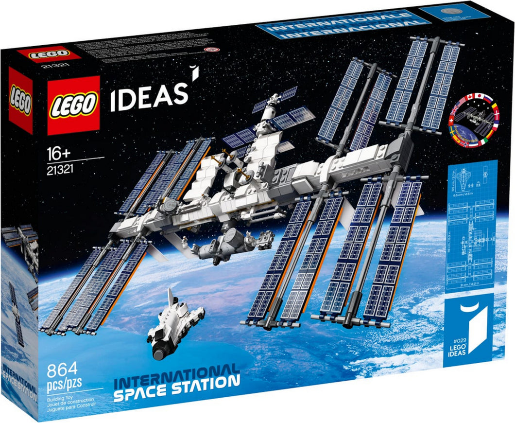 ISS - International Space Station - 21321-LEGO Ideas-Il Mattoncino