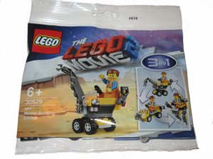 Mini Master-Building Emmet polybag - 30529-LEGO Movie 2-Il Mattoncino