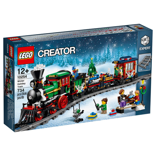 lego 10254 winter holiday train christmas