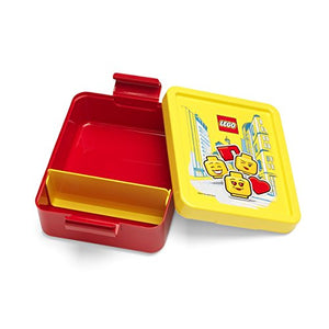 LEGO LUNCH SET ICONIC GIRL Bright Red - ROOM Copenhagen