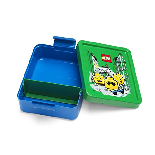 ROOM Copenhagen  LEGO Lunch Set Iconic Boy Bright Blue - ROOM Copenhagen