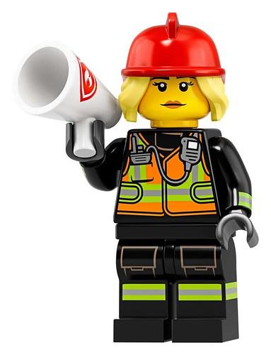 LEGO  Fire Fighter 08 Minifigures 19 - 71025
