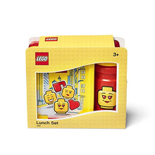Carica l'immagine nel visualizzatore di Gallery, LEGO LUNCH SET ICONIC GIRL Bright Red - ROOM Copenhagen