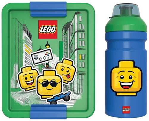 LEGO Lunch Set Iconic Boy Bright Blue - ROOM Copenhagen