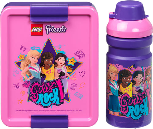 LEGO Lunch Set Friends Medium Lilac - ROOM Copenhagen