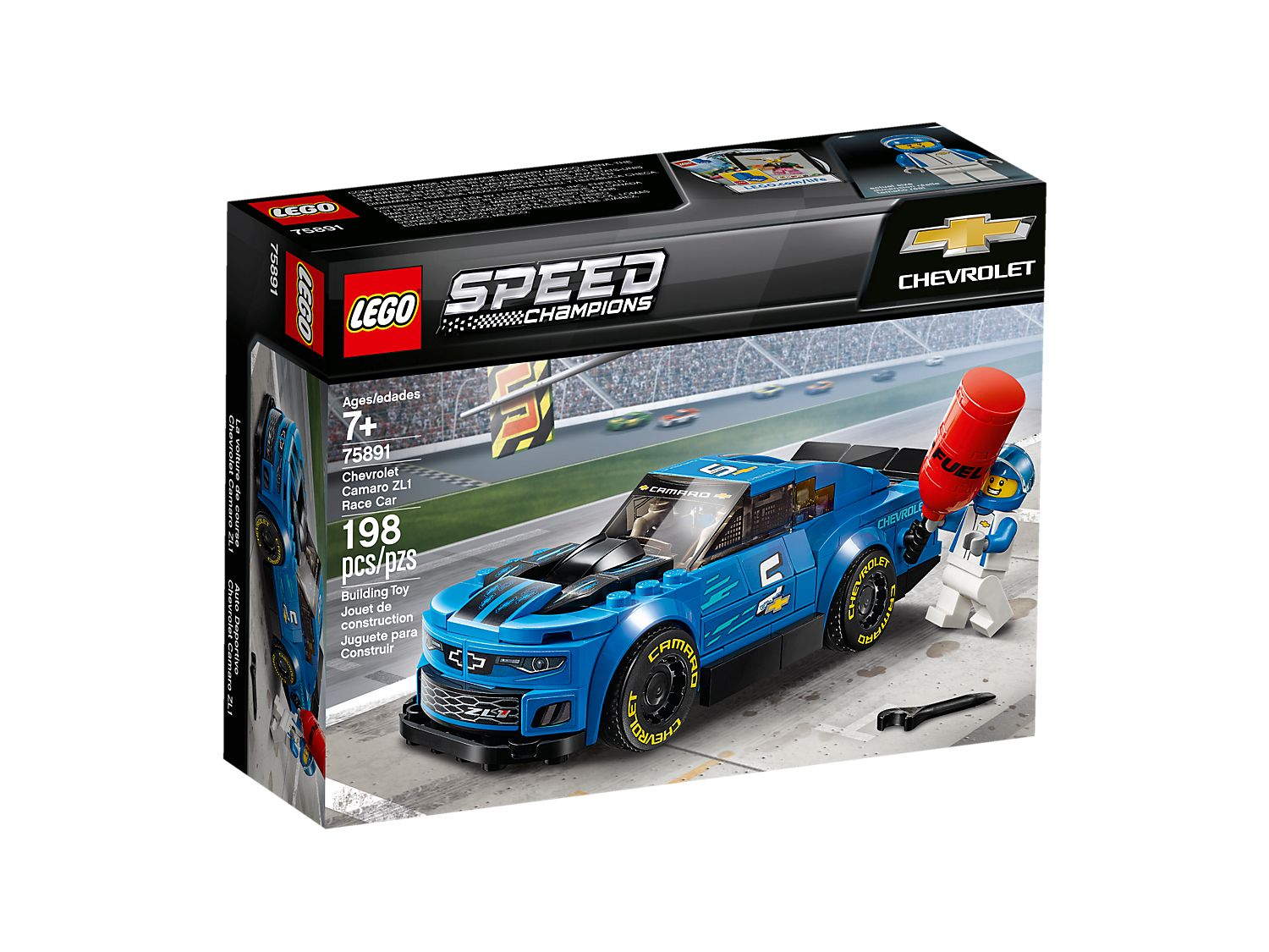 LEGO Chevrolet Camaro ZL1 Race Car