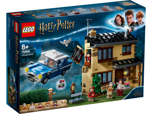 LEGO Harry Potter Privet Drive, 4 75968
