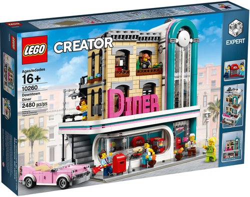 Downtown Diner - 10260-LEGO Creator EXPERT-Il Mattoncino